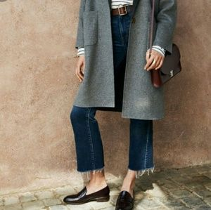 MADEWELL ELIN LOAFERS CORDOVA BROWN 8